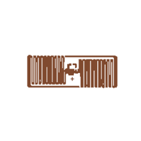 UHF 900 MHz Rectangular RFID Tag
