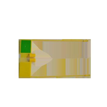 UHF 860–-960 MHz Cashbox Lock RFID Tag