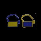 UHF 860-960 MHz Document Cabinet Lock RFID Tag