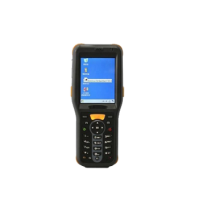 2.45 GHz Active Handheld RFID Reader - IP65, Windows CE, WiFi, Bluetooth, GPS, Barcode