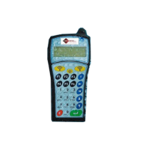 134.2 kHz LF Compact Handheld RFID Reader - ISO11784 ISO11785 HDX FDX, Large Memory, USB and Bluetooth Interfaces, LCD Screen, IP64 Rated, Interface with External Antenna