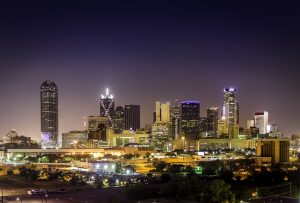 Downtown Dallas Illuminated
