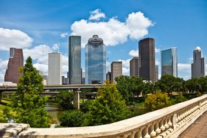 Downtown Houston Texas Cityscape Skyline