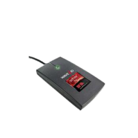 Dual Frequency Proximity and Contactless Card Reader