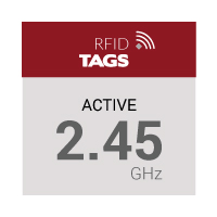 2.45 GHz Active RFID Tags