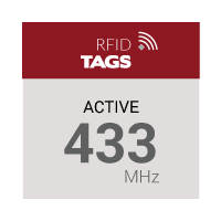Active 433 MHz RFID Tags