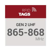 Gen 2 UHF 865-868 MHz RFID Tags