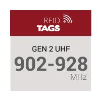 Gen 2 UHF 902-928 MHz RFID Tags