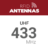 UHF 433 MHz RFID Antennas