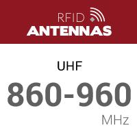 UHF 860 - 960 MHz RFID Antennas