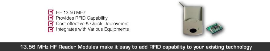 1356 hf reader modules