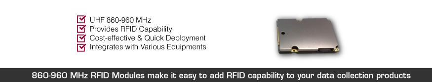 869-960 mhz rfid modules