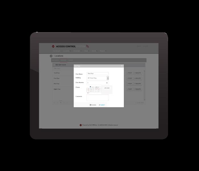 access-control-screen